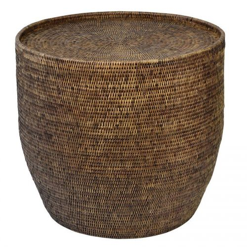 Hayman Natural Rattan Side Table