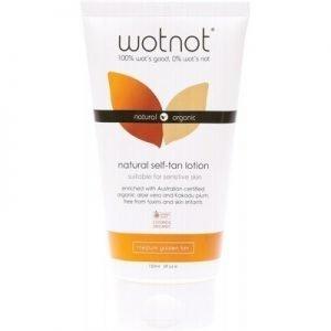 Wotnot Natural Self Tan Lotion