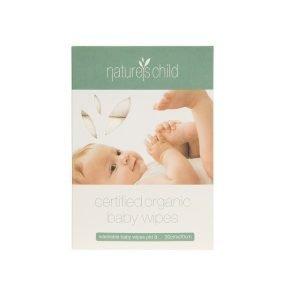 Nature's Child Organic Cotton Baby Wipes