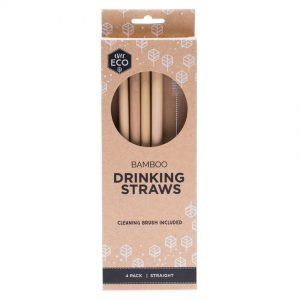 Ever Eco Natural Bamboo Straws
