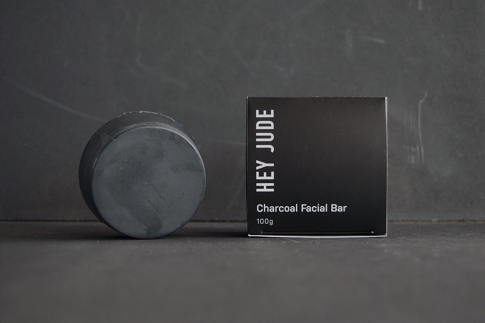 Hey Jude Men's Activated Charcoal Facial Bar