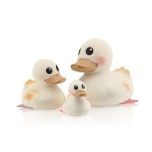 Natural Rubber Teething Duck Family