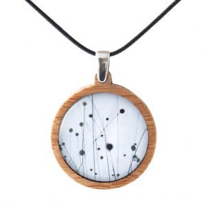 Myrtle & Me Buttongrass Medium Bamboo Pendant