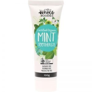 The Whole Boodies Natural Mint Toothpaste