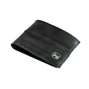 Upcycled Bike Inner Tube Slim Wallet