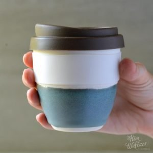 Bluegum Reusable Takeaway Coffee Cup 12oz