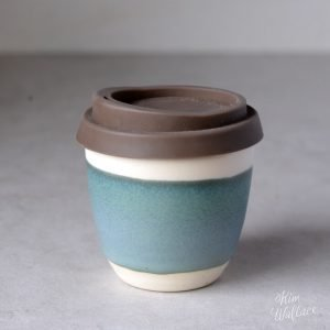Bluegum Reusable Takeaway Coffee Cup 8oz