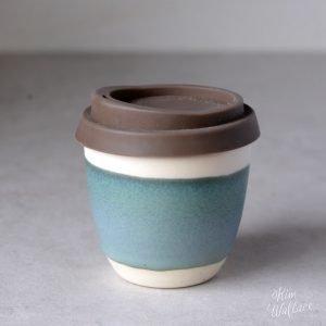 Bluegum Reusable Takeaway Coffee Cup 8oz