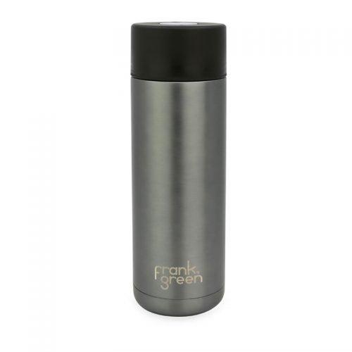 Frank Green Gun Metal Grey Insulated Smart Bottle