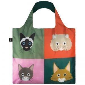 LOQI Reusable Shopping Bag - Cats & Dogs