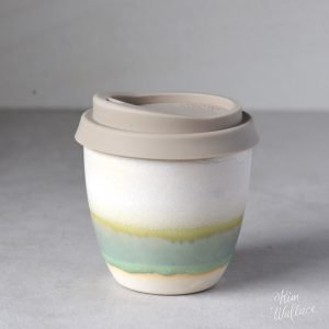 Rockpool Reusable Ceramic Coffee Cup 8oz
