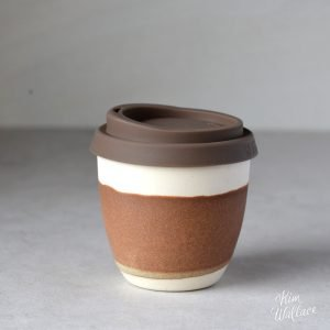 Rust Reusable Takeaway Coffee Cup 8oz