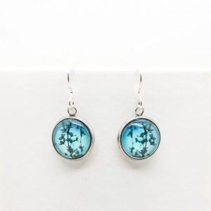 Myrtle & Me Blue Blossom Drop Earrings