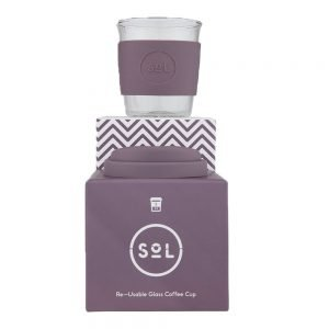 SoL Reusable Coffee Cup - Mystic Mauve