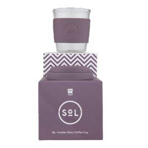 SoL Reusable Coffee Cup - Mystic Mauve