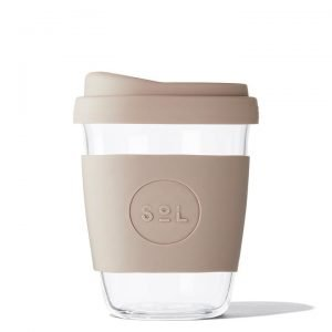reusable coffee cup seaside slate Sol Cup
