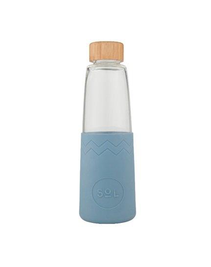 SoL Reusable Water Bottle - Blue Stone