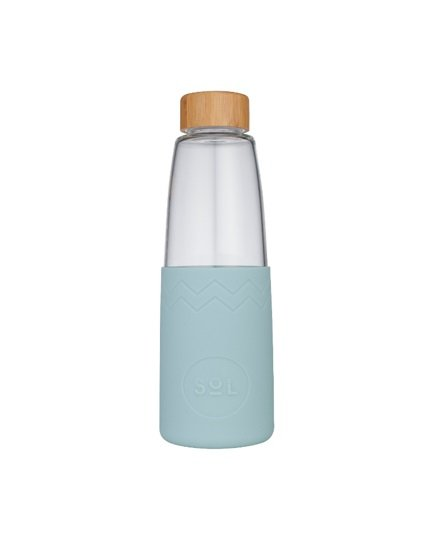 SoL Reusable Water Bottle - Cool Cyan