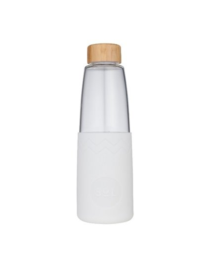 SoL Reusable Water Bottle - White Wave